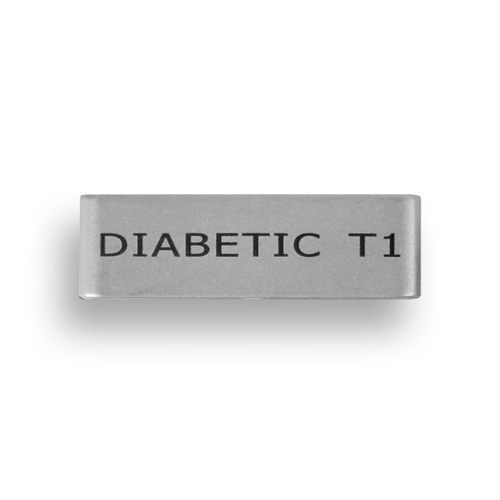 Badge - Diabetic T1