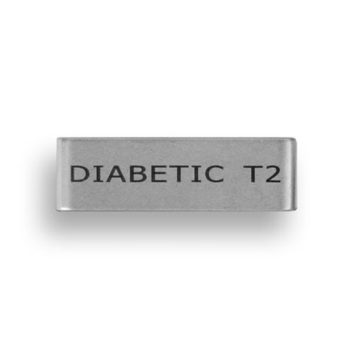 Badge - Diabetic T2